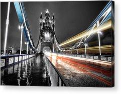 Tower Of London Acrylic Prints