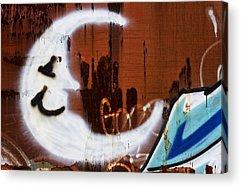 Man In The Moon Photographs Acrylic Prints