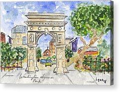 Washington Square Park Acrylic Prints