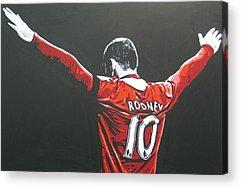 Wayne Rooney Acrylic Prints