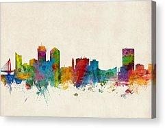 Kansas City Skyline Acrylic Prints