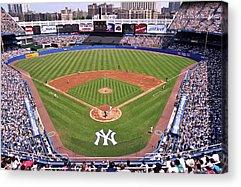 Yankee Stadium Bleachers Acrylic Prints