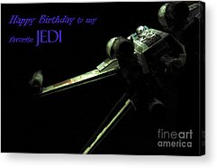 Xwing Photographs Acrylic Prints