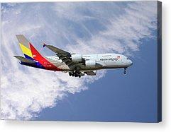 A380 Acrylic Prints
