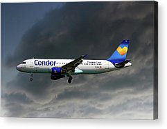 Airbus A320 Acrylic Prints