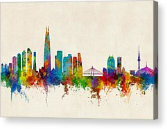 South Korea Acrylic Prints