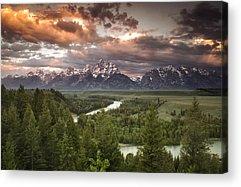 Grand Teton Acrylic Prints