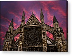 Westminster Abbey Acrylic Prints