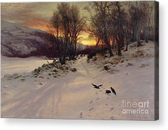 A Sunny Morning Paintings Acrylic Prints