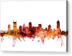 Nashville Skyline Acrylic Prints