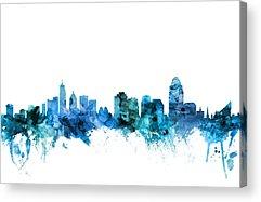 Cincinnati Skyline Acrylic Prints