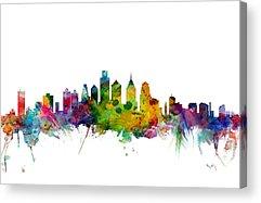 Philadelphia Skyline Acrylic Prints