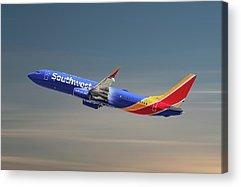 Airline Acrylic Prints