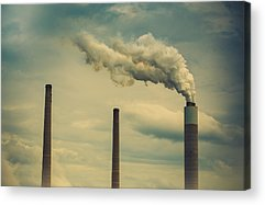 Power Plants Acrylic Prints