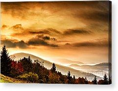 Highland Scenic Highway Acrylic Prints
