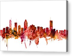 Montreal Acrylic Prints