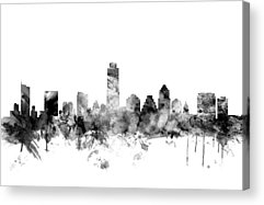 Austin Skyline Acrylic Prints