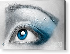 Eyebrow Acrylic Prints