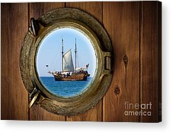 Pirate Ship Acrylic Prints