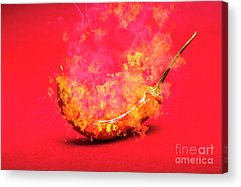 Curry Acrylic Prints