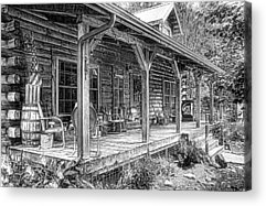 Porch Acrylic Prints