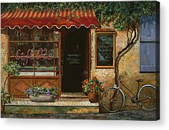 Cafe Acrylic Prints