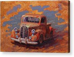 Rusty Truck Acrylic Prints