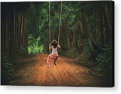 Swings Acrylic Prints