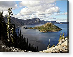 Crater Lake Acrylic Prints