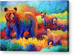 Plein Air Paintings Acrylic Prints