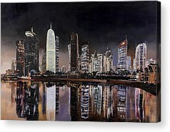 Doha Acrylic Prints