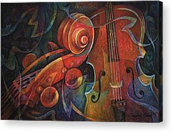 Cello Acrylic Prints