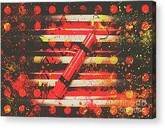 Pyrotechnics Acrylic Prints