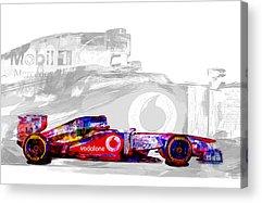 Marco Andretti Acrylic Prints