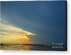 Storm Clouds Cape Cod Acrylic Prints