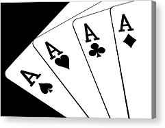 Playing Cards Acrylic Prints