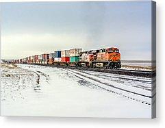 Train Tracks Acrylic Prints