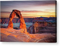 Usa Acrylic Prints
