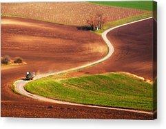 Aerial Landscape Photographs Acrylic Prints