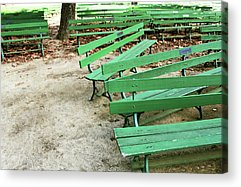 Bench Mixed Media Acrylic Prints