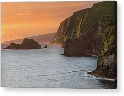 Ocean Sunset Acrylic Prints