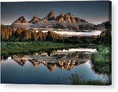 Grand Teton National Park Acrylic Prints