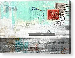 Freighter Acrylic Prints