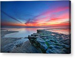 Sunset Beach Acrylic Prints