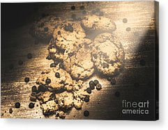 Chocolate Chips Acrylic Prints