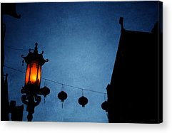 China Town Acrylic Prints