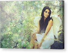 Angel Digital Art Acrylic Prints
