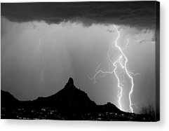 Lightning Acrylic Prints