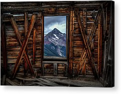Ghost Towns Acrylic Prints