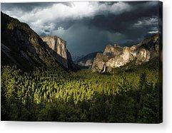 Yosemite National Park Acrylic Prints